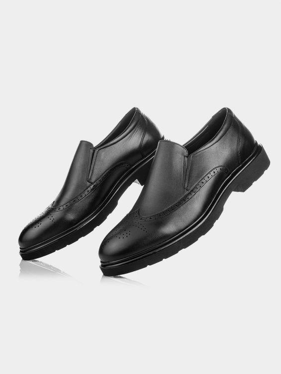 کفش کلاسیک مردانه بی بند 6222 MS2775 GN