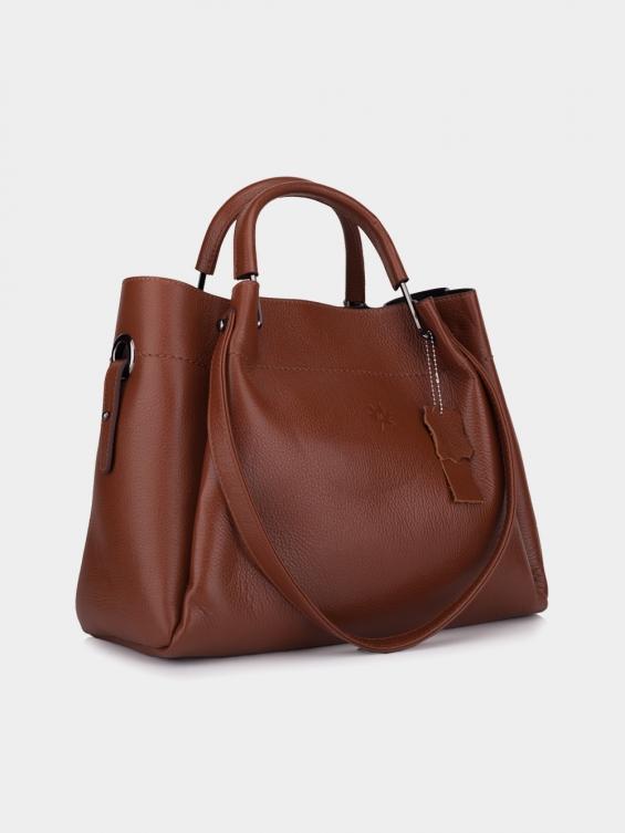 کیف دوشی زنانه 0150 LHB4713 BO رنگ عسلی