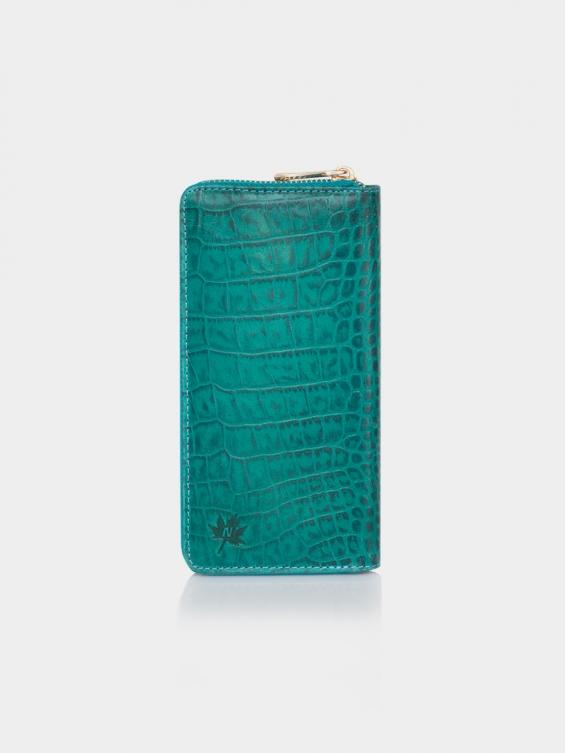 کیف پول سارینا PW3078 BA رنگ آبی کوروکو
