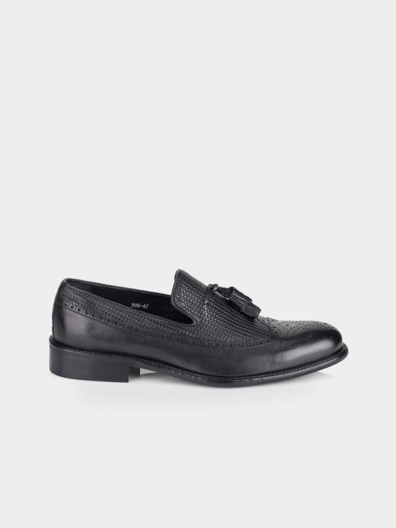 کفش کلاسیک مردانه 2398 MS2641 RV رنگ مشکی نمای بغل