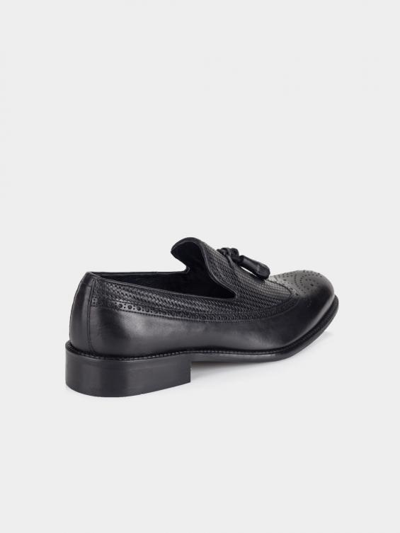 کفش کلاسیک مردانه 2398 MS2641 RV رنگ مشکی نمای پشت
