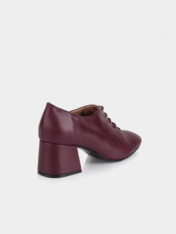 کفش مجلسی زنانه 5683 WS3140 RV رنگ زرشکی نمای پشت
