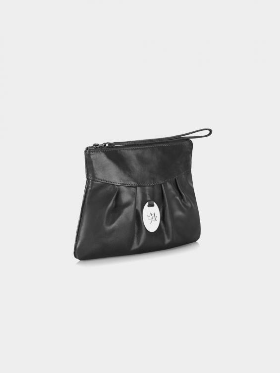 کیف آرایشی آماندا CBX0290 AE رنگ مشکی نمای بغل