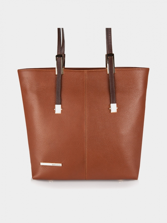 کیف دوشی زنانه روژین LHB4541 EX رنگ عسلی