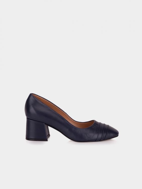 کفش مجلسی زنانه 4791 WS3137 RV رنگ سرمه ای نمای بغل