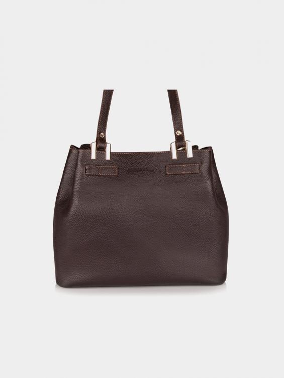 کیف دوشی زنانه دلیلا LHB4440 CH رنگ قهوه ای