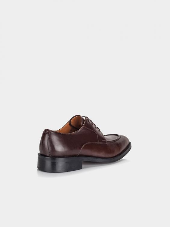 کفش کلاسیک مردانه 2062 MSF2451 EFE رنگ قهوه ای نمای پشت