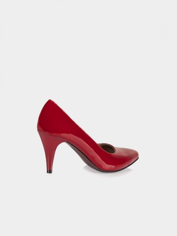 کفش مجلسی زنانه 115 WS2630 E رنگ قرمز نمای بغل