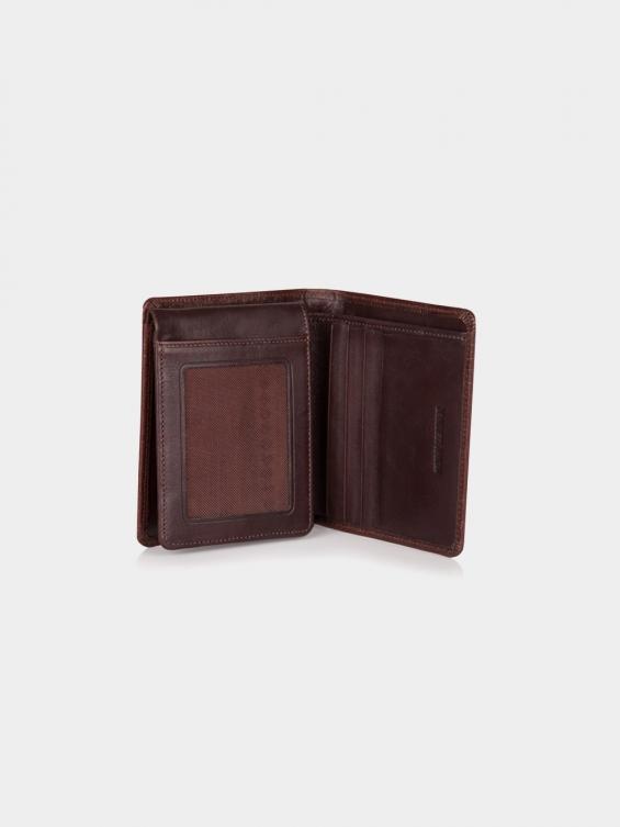 کیف جیبی پاریس PE2601 RA رنگ قهوه ای نمای داخل