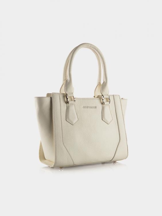 کیف دوشی زنانه آرشید LHB4639 SHK رنگ شیری نمای بیرون