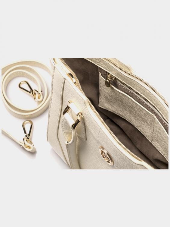 کیف دوشی زنانه آرشید LHB4639 SHK رنگ شیری نمای داخل