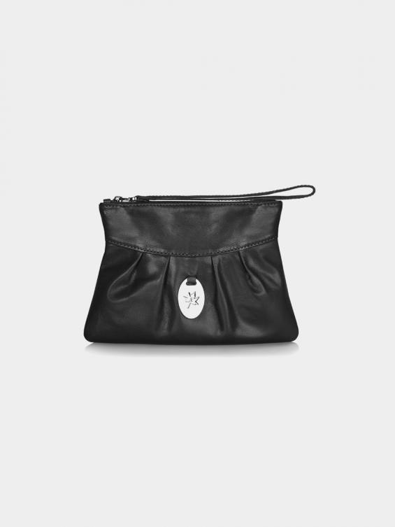 کیف آرایشی آماندا CBX0290 AE  رنگ مشکی نمای جلو
