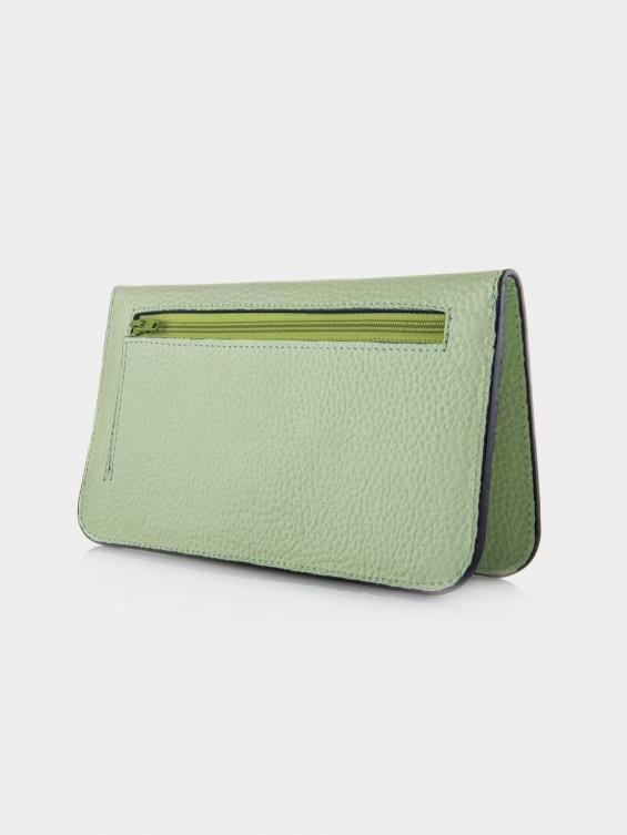کیف پول والوری PW3133 BA رنگ سبز نمای پشت
