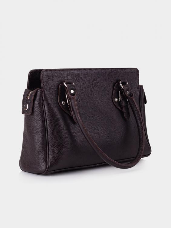کیف دوشی زنانه 1006-1 LHB4690 CH رنگ قهوه ای