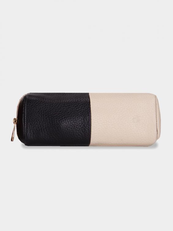 کیف آرایشی آتانا CBX0323 AE رنگ مشکی شیری