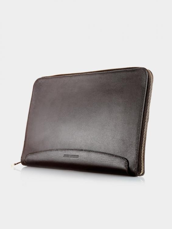 کیف دستی آتمين LHB4576 EX رنگ قهوه ای نمای پشت