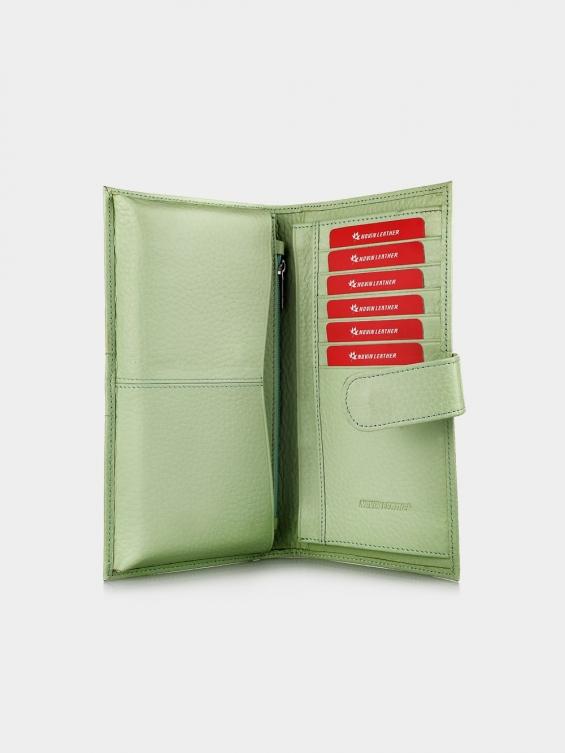 کیف پول وایدا PW3090 RA رنگ سبز