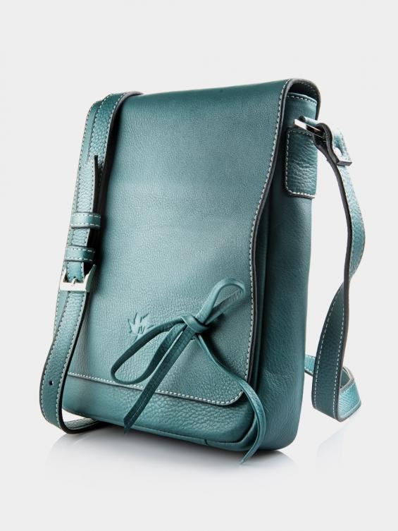 کیف دوشی زنانه LHB4469 M 406 رنگ آبی