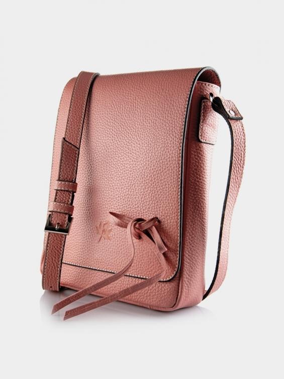کیف دوشی زنانه LHB4469 M 406 رنگ صورتی