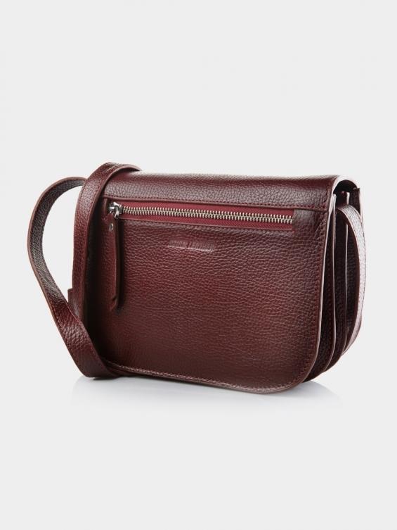 کیف دوشی زنانه 1019-1 LHB4701 CH رنگ زرشکی