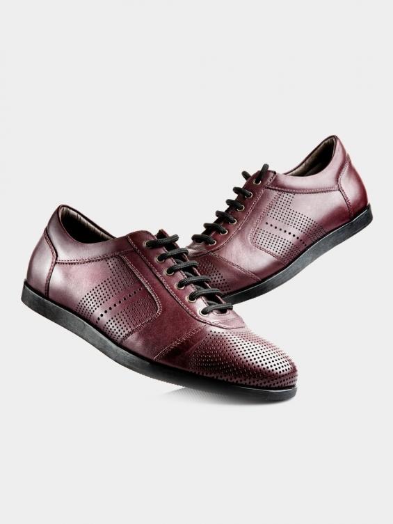 کفش اسپورت مردانه 20511 MS2605 L رنگ زرشکی
