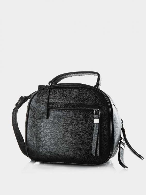 کیف دوشی زنانه 005 LHB4750 BO رنگ مشکی نمای پشت