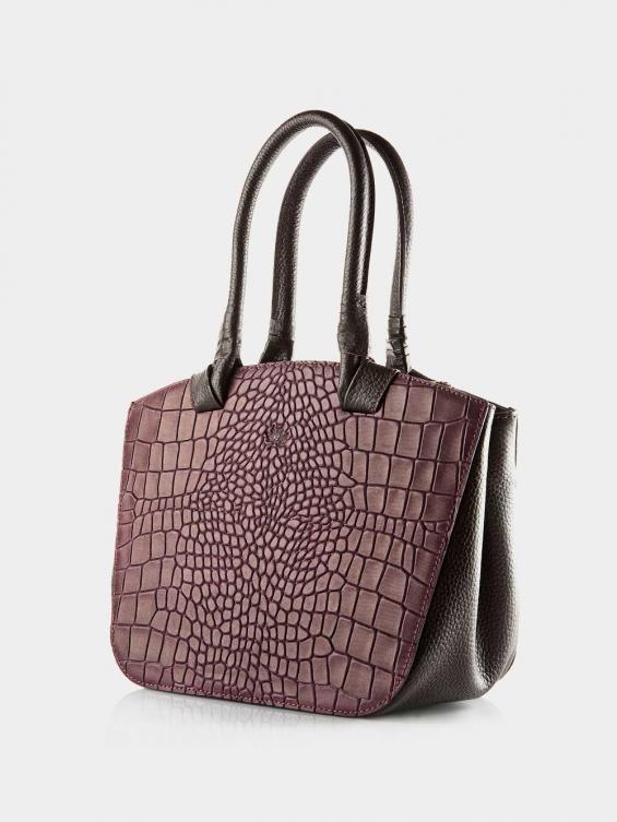 کیف دوشی زنانه آریسا LHB4635 SHK رنگ زرشکی