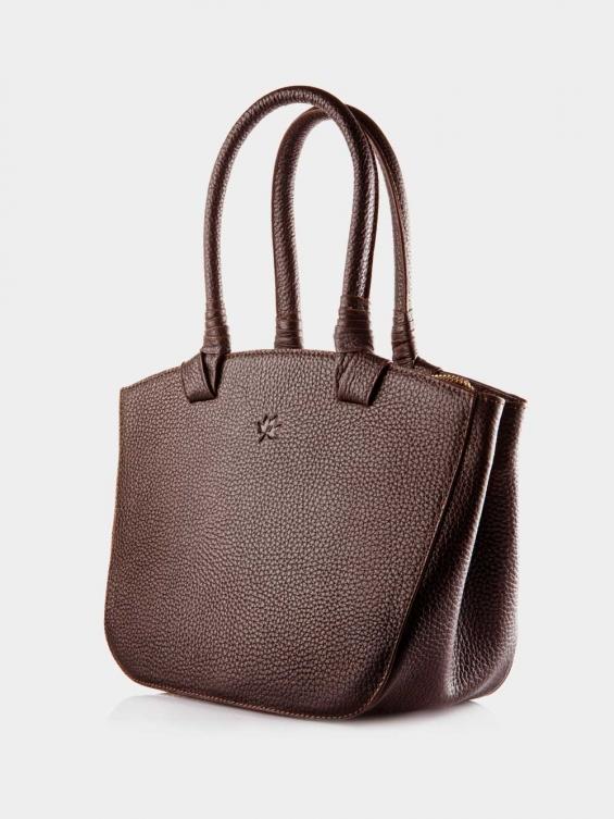 کیف دوشی زنانه آریسا LHB4635 SHK رنگ قهوه ای