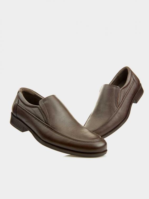 کفش اسپورت مردانه 2101 MS2242 CI رنگ قهوه ای نمای جلو