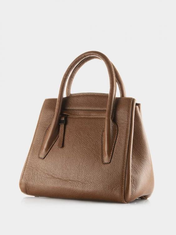 کیف دوشی زنانه 0222 LHB4747 BO رنگ عسلی