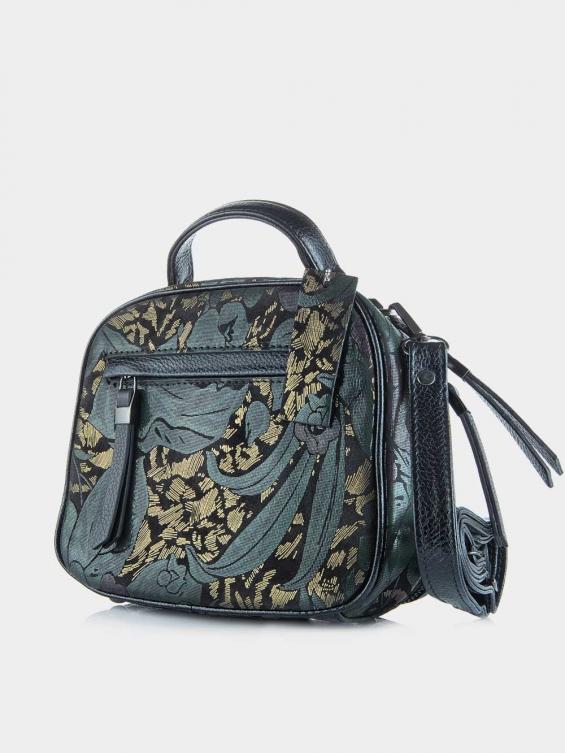 کیف دوشی زنانه 005 LHB4750 BO طرحدار نمای پشت