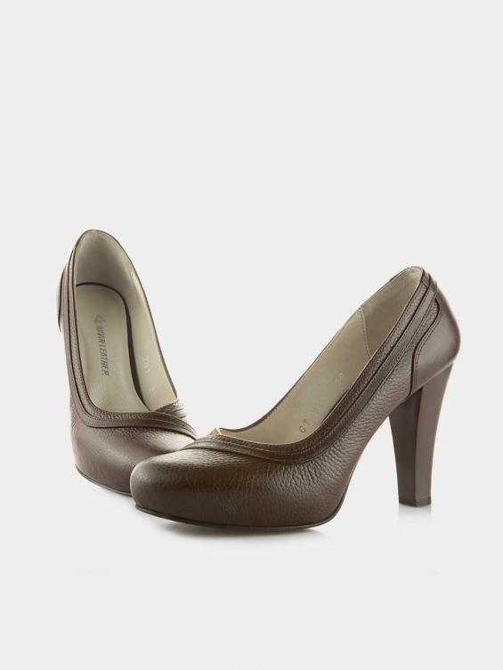 کفش مجلسی زنانه 108 WS3045 E رنگ قهوه ای