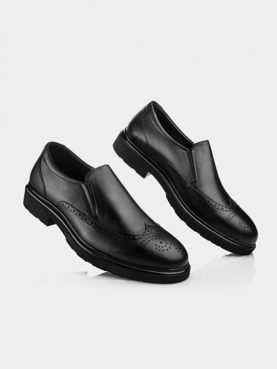 کفش مردانه کلاسیک بی بند 6222 MS2775 GN نمای دیگر