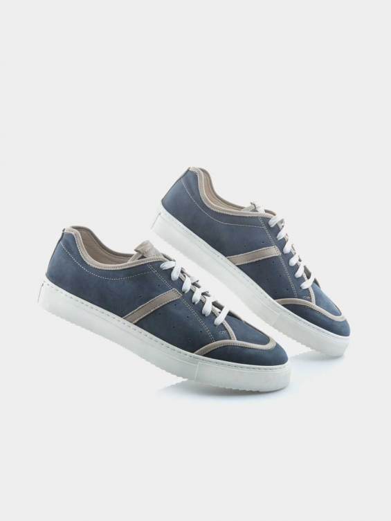 کفش اسپورت مردانه 81136--MS--2711--AG سورمه ایی