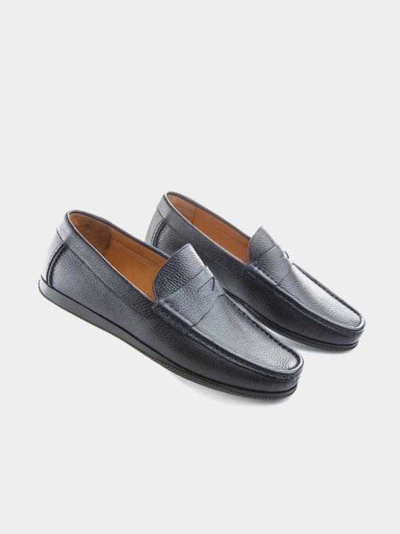کفش کالج مردانه -8083---MS--2672  سورمه ای