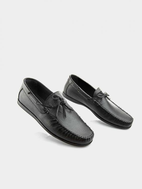 کفش کالج مردانه -8084---MS-2673----L رنگ مشکی