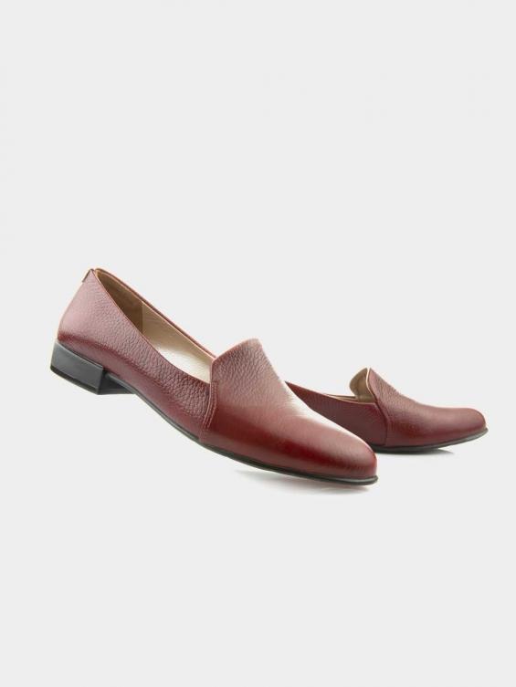 کفش مجلسی زنانه  9008   WS3112   E رنگ زرشکی