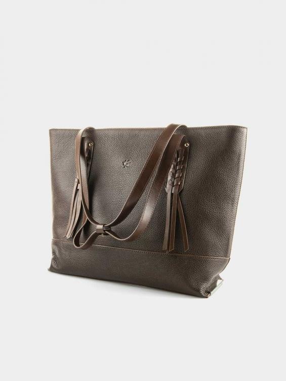 کیف دوشی زنانه  آریسو LHB4767 SHK رنگ قهوه ای