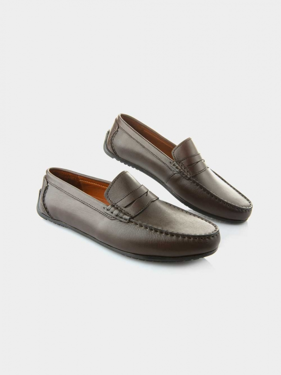 کفش کالج مردانه 3111 MS2046 رنگ قهوه ای