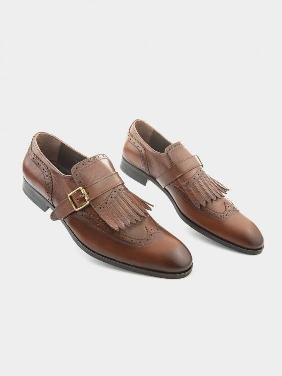 کفش کلاسیک مردانه 1200  MS2659   YR رنگ عسلی