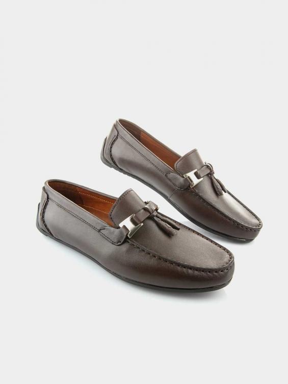 کفش کالج مردانه  کارما  MS2361  H رنگ قهوه ای