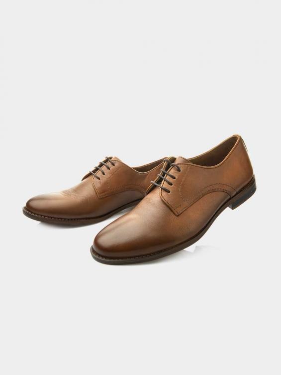 کفش کلاسیک مردانه 61304  MS2616    RV رنگ عسلی