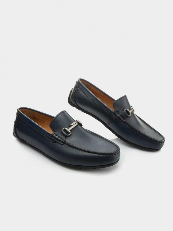 کفش کالج مردانه  3112   MS2684   H رنگ سورمه ای