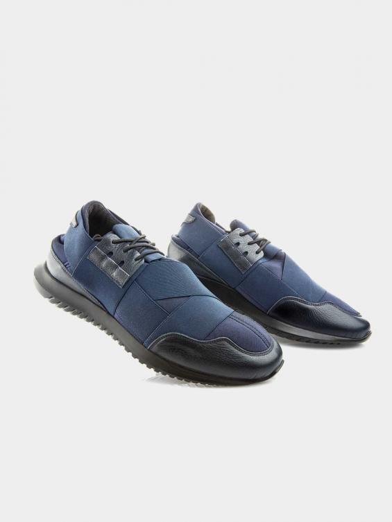 کفش اسپورت مردانه 01044 MS2667 YR سرمه ای