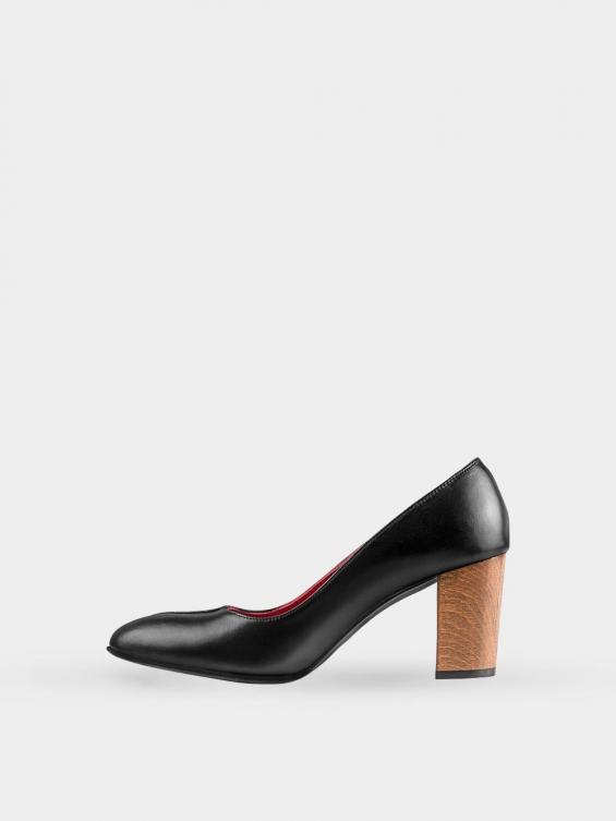 کفش مجلسی زنانه 1347   WS3219  مشکی چپ