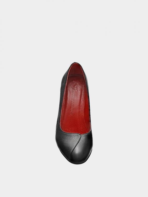 کفش مجلسی زنانه 1347   WS3219  مشکی نمای جلو