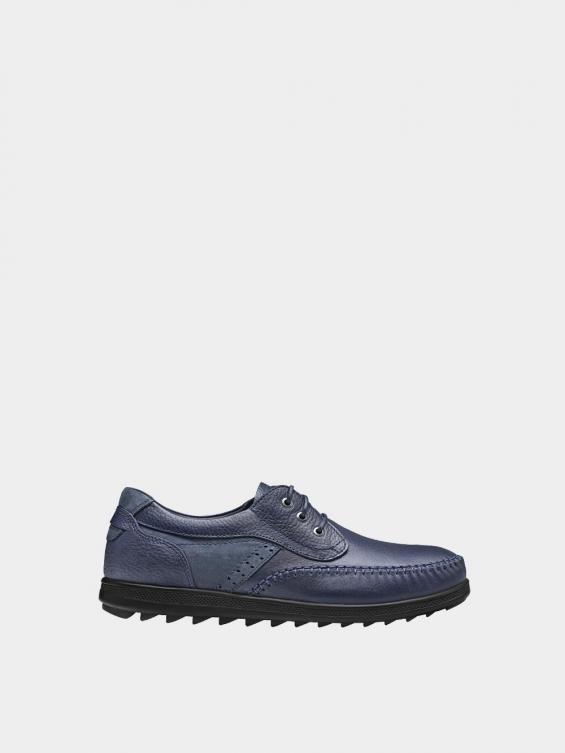 کفش اسپورت مردانه 2232 MS2431  رنگ سرمه ای راست
