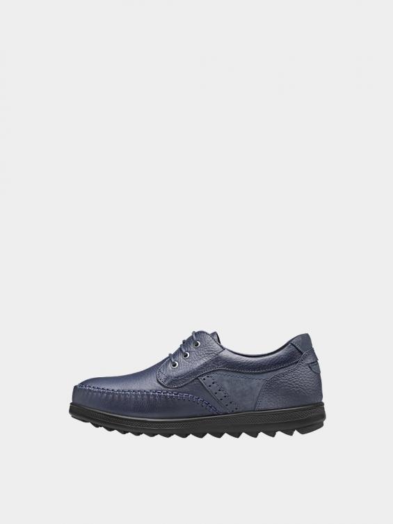 کفش اسپورت مردانه 2232 MS2431  رنگ سرمه ای چپ