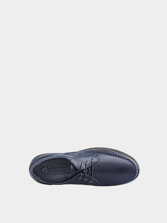 کفش اسپورت مردانه 2232 MS2431  رنگ سرمه ای داخل