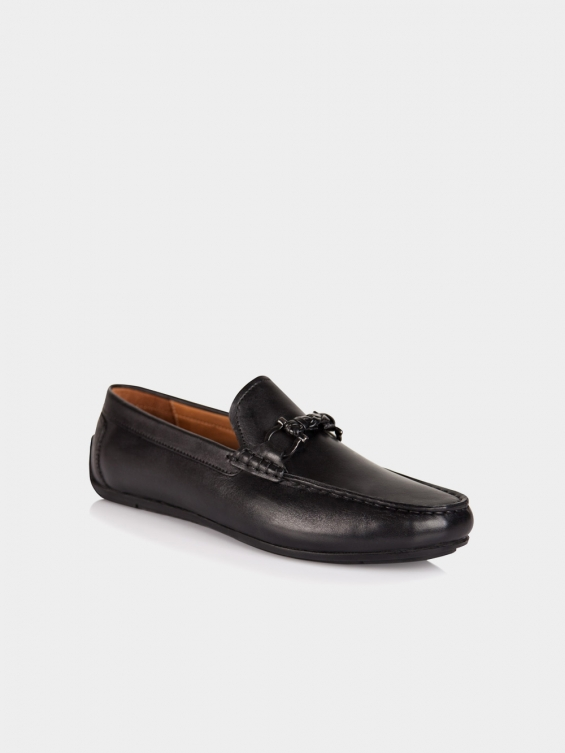 کفش کالج مردانه کارنو MS2362 H رنگ مشکی نمای بغل